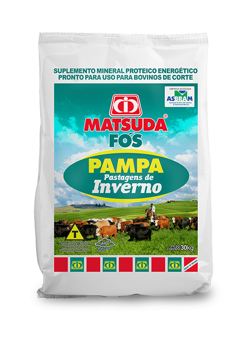 Matsuda Fós Pampa Pastagens de Inverno