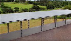 Matsuda inaugura micro usina de energia solar
